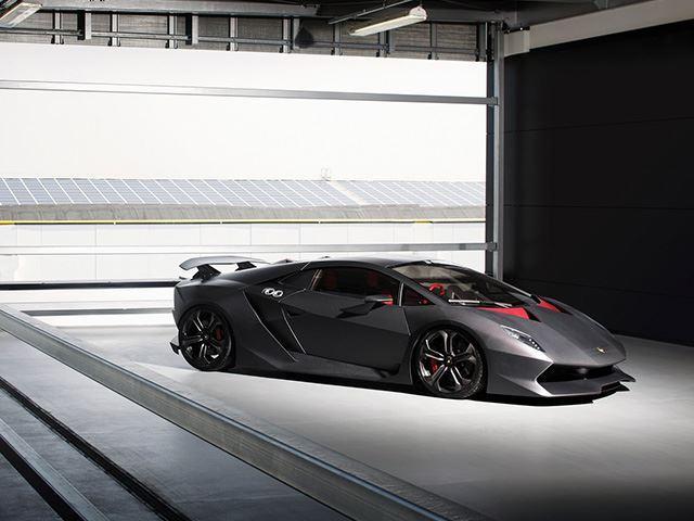 Lamborghini's New Carbon Fiber Pic 1