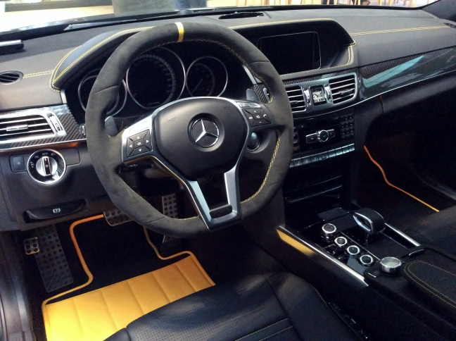 The_interior_of_Mercedes-Benz_W212_E63_AMG_S_4MATIC_Performance_Studio_Special.JPG